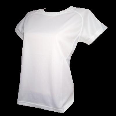 Футболка женская Phiten Soft Cool белая