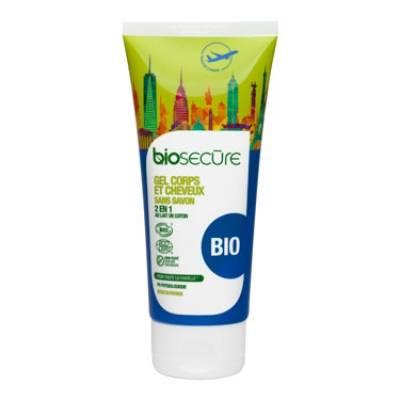 биосекур очищающий гель для тела и волос, 100 мл