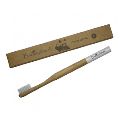 Зубная щетка Bamboobrush (средняя жесткость)