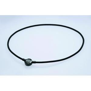 Ожерелье Phiten METAX PUSH TYPE черное или коричневое