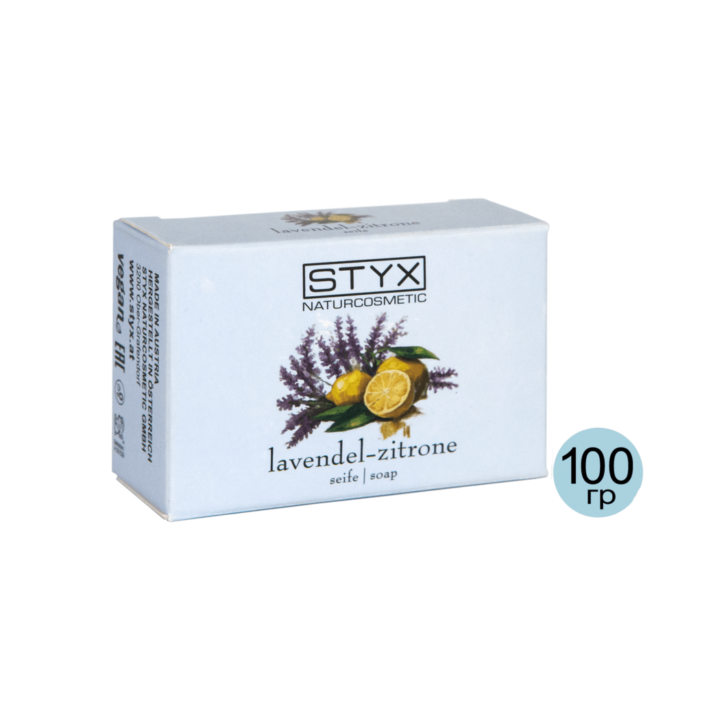 Мыло «Лаванда-лимон» STYX, 100 гр.