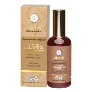 КАДИ Антицеллюлитное масло для тела «10 РАСТЕНИЙ», 100 мл