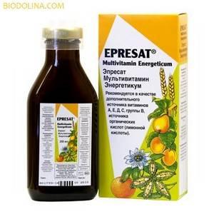 САЛЮС Эпресат Мультивитамин Энергетикум, 250 мл - натуральные витамины