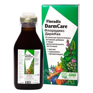 САЛЮС Флорадикс ДармКеа, 250 мл - натуральные витамины