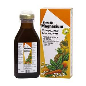 САЛЮС Флорадикс Магнезиум, 250 мл - натуральные витамины