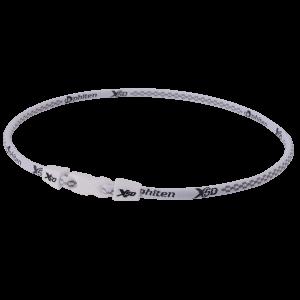 Ожерелье Phiten Х50  Necklace белый (55 см)