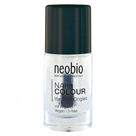 """Лак для ногтей №01 """"Волшебное сияние"""", база и закрепляющее покрытие NeoBio, 8 мл."""