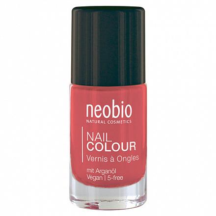 """Лак для ногтей №03 """"Чудесный коралл"""" NeoBio, 8 мл."""