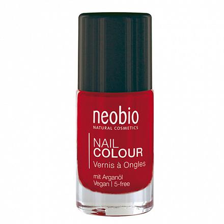 """Лак для ногтей №05 """"Лесная земляника"""" NeoBio, 5 мл."""