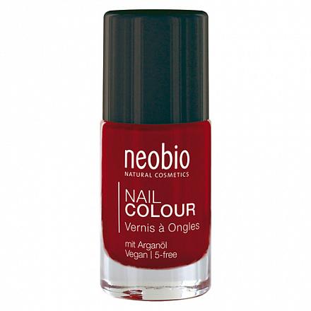 """Лак для ногтей №06 """"Насыщенный красный"""" NeoBio, 8 мл."""