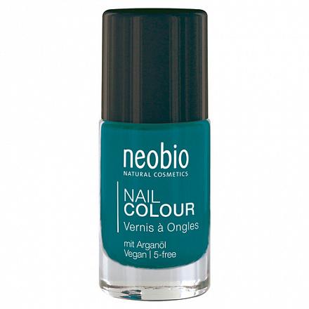 """Лак для ногтей №09 """"Драгоценная бирюза"""" NeoBio, 8 мл."""