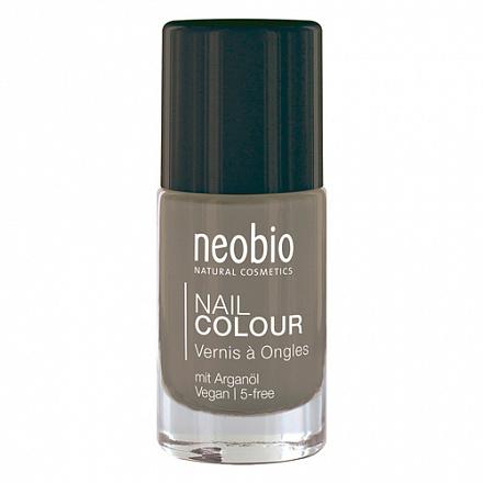 """Лак для ногтей №11 """"Нежно-Серый"""" NeoBio, 8 мл."""