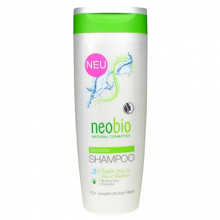 Шампунь для чувствительной кожи головы NeoBio, 250 мл.