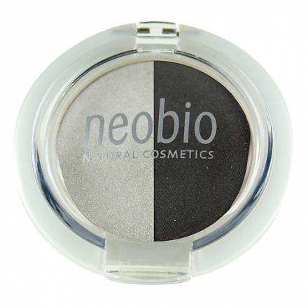 """Двойные тени для век """"Тон 03 туманная ночь"""" NeoBio, 2.5 г."""