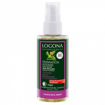 Восстанавливающее масло для волос Logona, 75 мл.