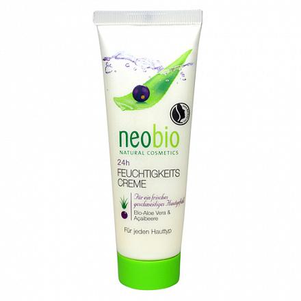 Увлажняющий крем для лица 24 часа NeoBio, 50 мл.