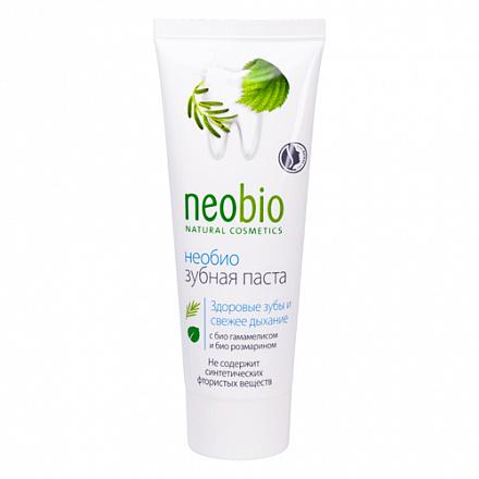 Зубная паста без фтора NeoBio, 75 мл.