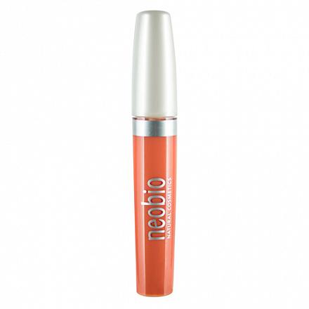 """Блеск для губ """"Тон 02 светло-персиковый"""" NeoBio, 8 мл."""