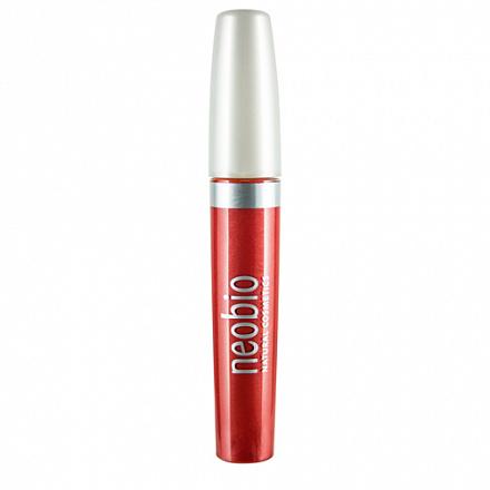 """Блеск для губ """"Тон 03 фантастический красный"""" NeoBio, 8 мл."""