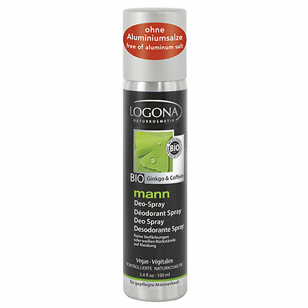 Man дезодорант-спрей Logona, 100 мл.