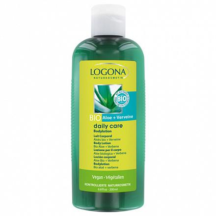 LOGONA Daily Care Лосьон для тела с Био-Алоэ и Вербеной  200 мл