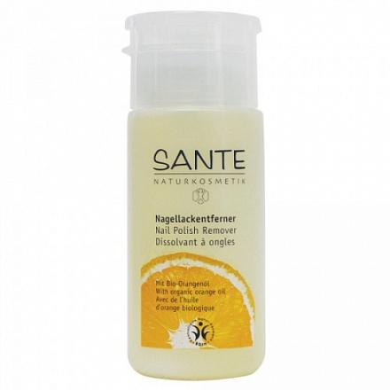 Натуральная жидкость для снятия лака Sante, 100 мл.