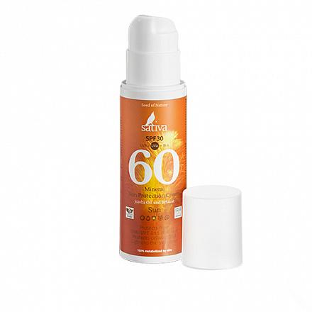 """Крем """"Минеральный №60 SPF 30"""" Sativa, 150 мл."""