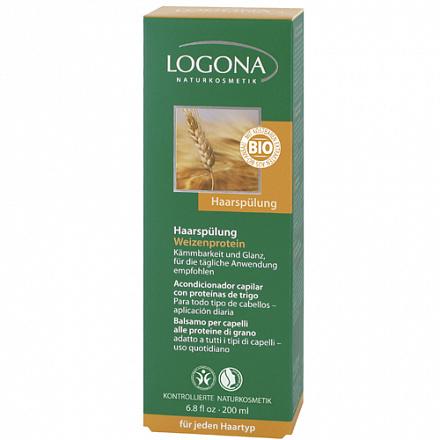 Кондиционер для волос с протеинами пшеницы Logona, 200 мл.