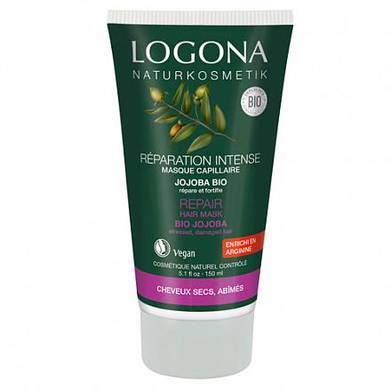 LOGONA Восстанавливающая маска для волос с маслом Жожоба 150 мл