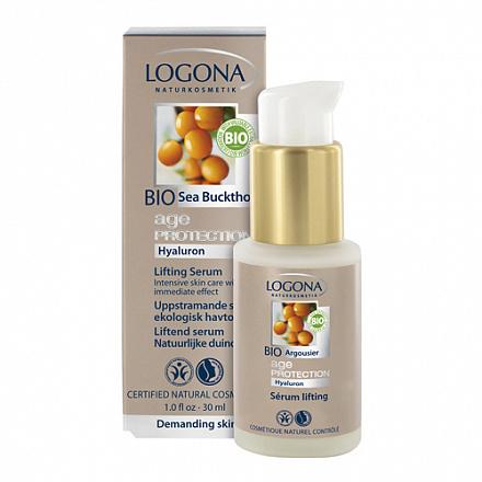 LOGONA Age Protection Подтягивающая сыворотка против морщин с Био-Облепихой 30 мл