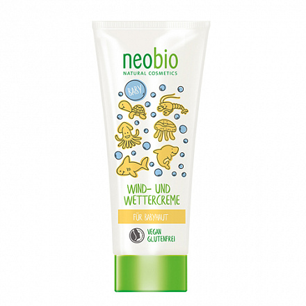 Крем детский от ветра и холода защитный NeoBio, 100 мл.