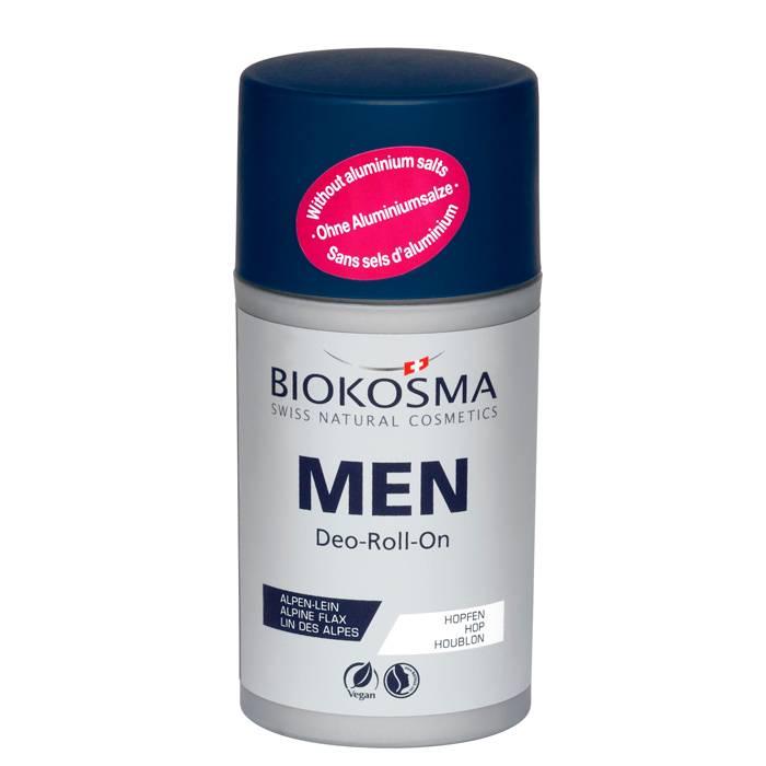 БИОКОСМА Шариковый дезодорант мужской, 60 мл