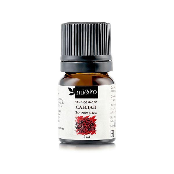 Эфирное масло Сандал 2 мл, органик