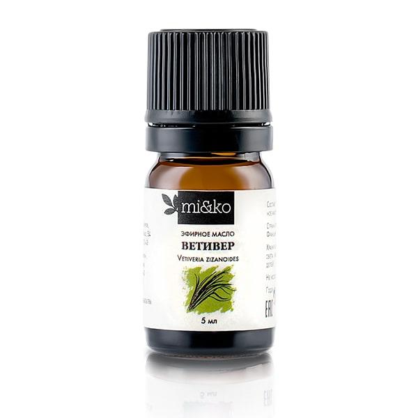 Эфирное масло Ветивер 5 мл, органик