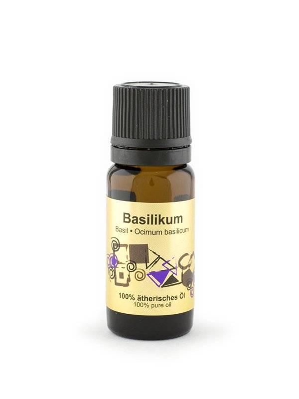 Эфирное масло Базилик, 10 мл.