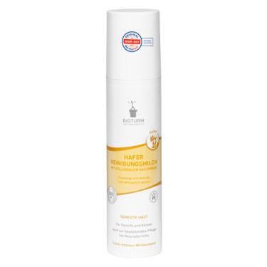 БИОТУРМ Очищающее молочко для лица и тела с овсяной мукой Nr.95, 200 мл