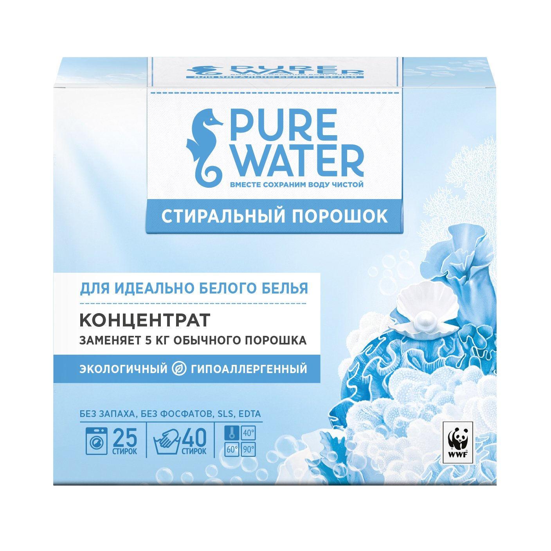 Стиральный порошок для белого белья Pure Water 800 г